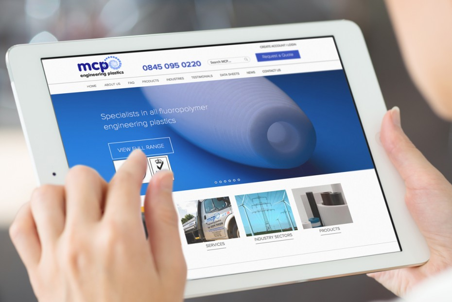 MCP responsive website design