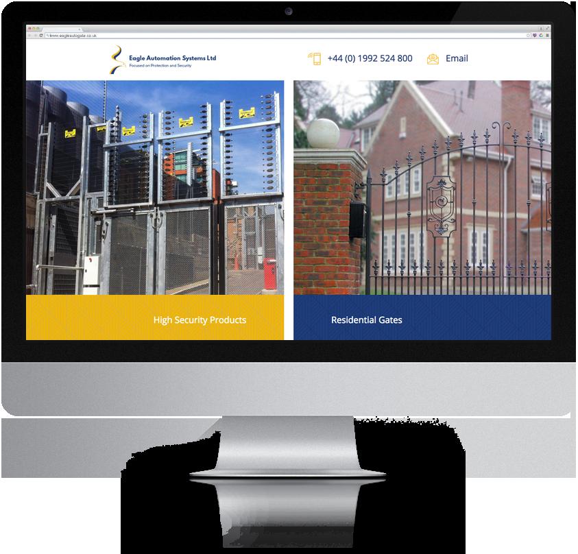 Brilliant Web design for UK high security manufacturer