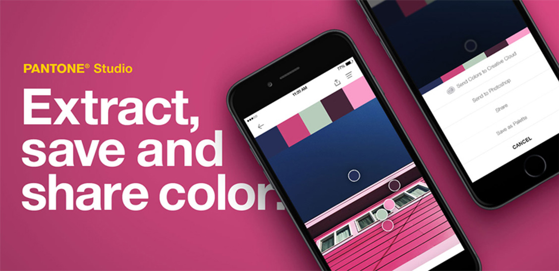 Pantone mobile application